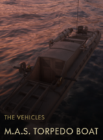 M.A.S. Torpedo Boat Codex Entry
