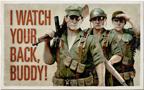 Squad Assister Postcard