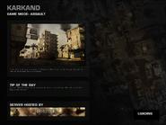 Battlefield P4F Karkand Loading Screen
