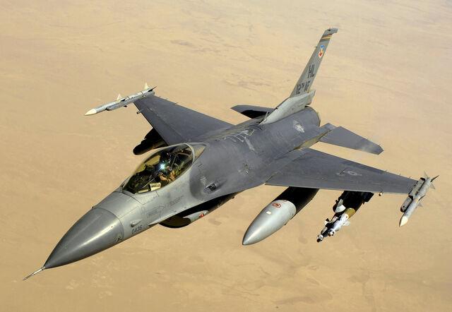 File:F-16 Fighting Falcon.jpg
