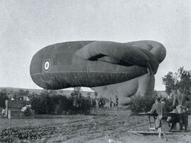 WW1 British Spotter Balloon