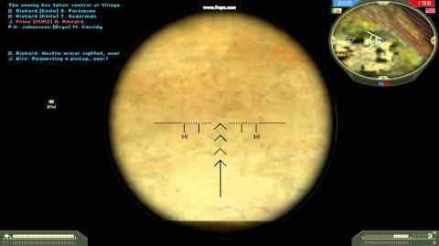 Battlefield 2 - Стрельба из СВД