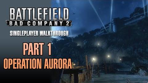 Battlefield Bad Company 2 Walkthrough - Part 1 - Operation Aurora