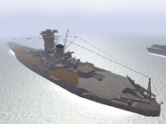 BF1942 YAMATO FROM BACK