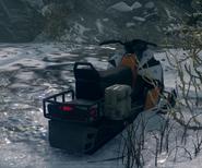 BFHL Snowmobile rear