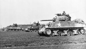 M4 Shermans in Europe
