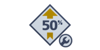 Gearhead 50% Boost