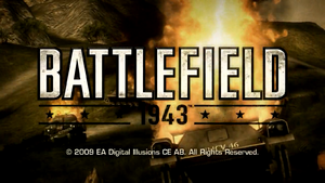 Battlefield 1943 Launch Trailer Screenshot