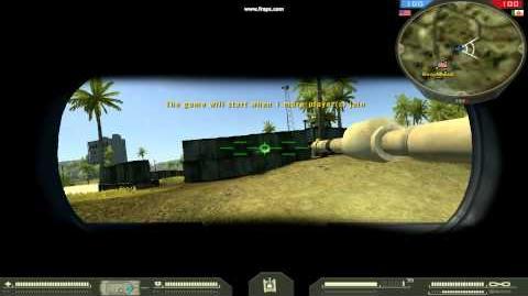 Battlefield 2 - Стрельба из M240C