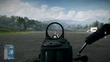 BF3 M249 Kobra Sight View