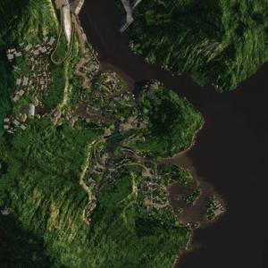 LagunaPresa map