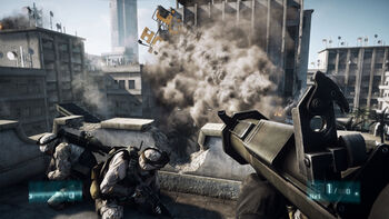 BF3 hotel explosion
