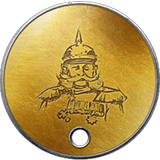 Battlefield 1 Veteran Dog Tag