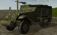 RAF.M3 Half-track.Front.BF1942