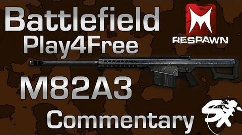 Battlefield Play4Free M82A3 Commentary
