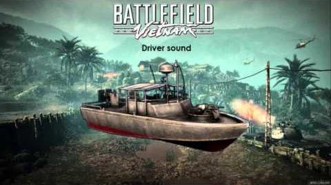 Battlefield Vietnam - Patrol Boat River Sounds