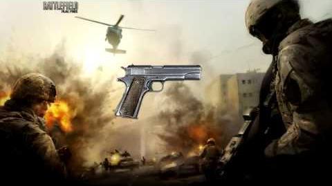 Battlefield Play4Free - M1911 Sound