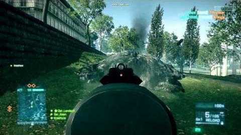 Battlefield 3 (Бета) - Стрельба из ПП-2000