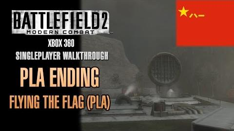 Battlefield 2 Modern Combat Walkthrough (Xbox 360) - PLA Ending - Flying The Flag