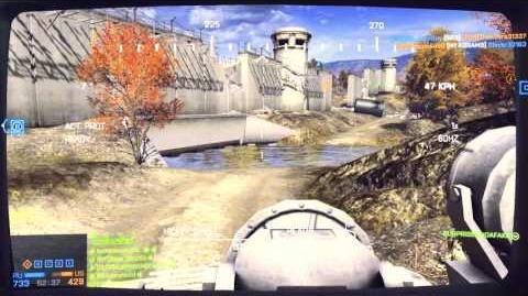 Battlefield 4 PC 9K22 Tunguska-M combat demonstration
