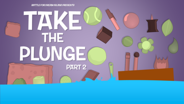 File:Bfdi fan made title cards take the plunge pt 2 by gatlinggroink58-d7k544l.png