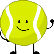 Tennis Ball With Arms