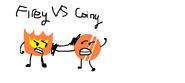 Firey VS Coiny