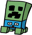 Creeper from Minecraft