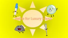 Battle for Luxury Island Logo
