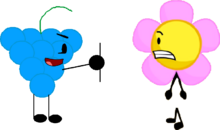 Oh God! Blue Raspberry Took Flower's Body!