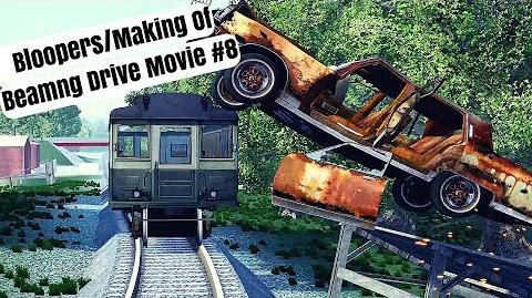 Beamng Drive Bloopers Making Of Movie Epic Chase Leads To Multiple Crashes (+Sound Effects)