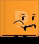 Orange Starburst Pose