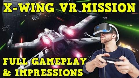 X-WING VR MISSION! - Star Wars Battlefront Rogue One FULL GAMEPLAY + IMPRESSIONS! PS4