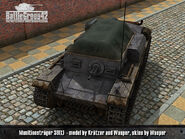 Munitionspanzer 38(t) render