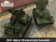 ZiS-30 render 2