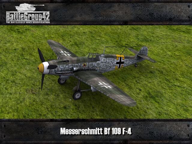 File:Messerschmitt Bf 109 F-4 render 1.jpg