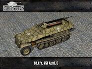Sdkfz 251 render 2