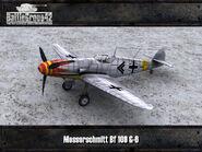 Messerschmitt Bf 109 G-6 render 3