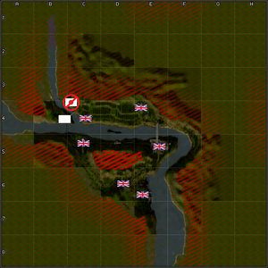 4203-Burma Road map
