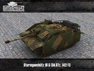 Sturmgeschütz III Ausf G render