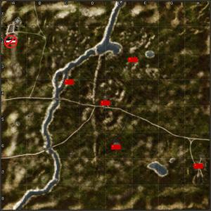 4107-Dnieper River map