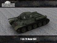 T-34-76 Model 1941 render 1