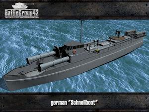 Schnellboot render