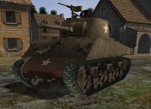 M4a3w sherman 1