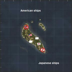 Guadalcanal conquest map