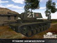 KV-1 Model 1940 old