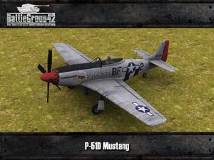 P-51D Mustang Render