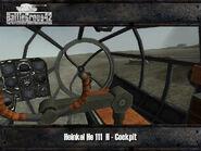 Heinkel He 111 cockpit 2