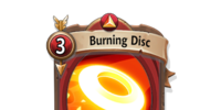 Burning Disc