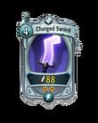 Melee 1 CARD HERO CHARGED SWORD